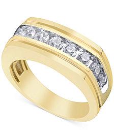 Men's Diamond Ring (1 ct. t.w.) in 10k Gold