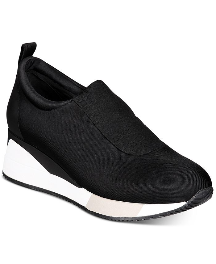 Alfani - Women's Walkerr Wedge Sneakers