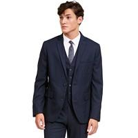 Deals on INC Mens Slim-Fit Micro Check Suit Jacket