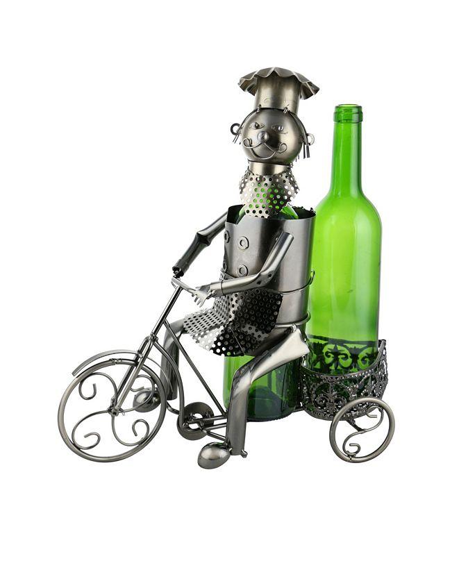 Wine Bodies Tricycle Rider 2 Bottles Wine Holder