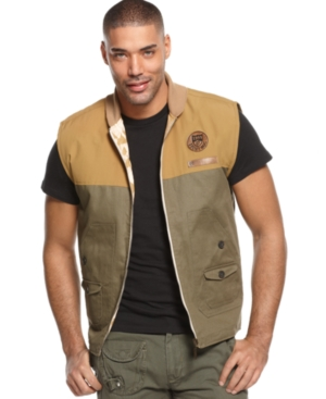 Rocawear Vest Diamond Tribe Reversible Vest