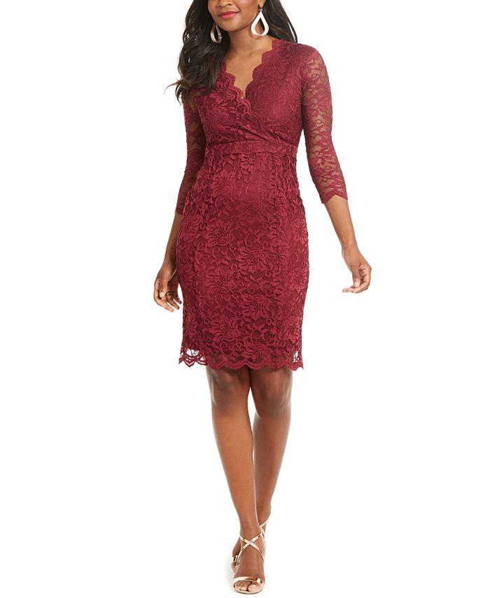 Thalia Sodi - Lace Sheath Dress
