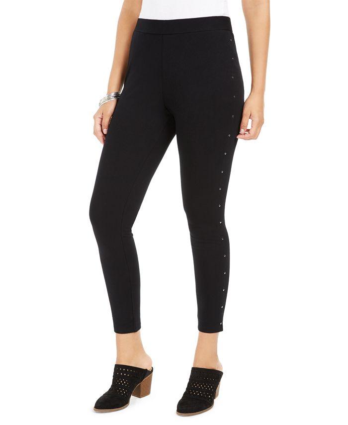 Style & Co - Studded-Seam Leggings