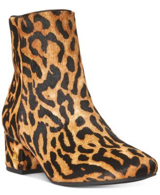 ralph lauren leopard shoes