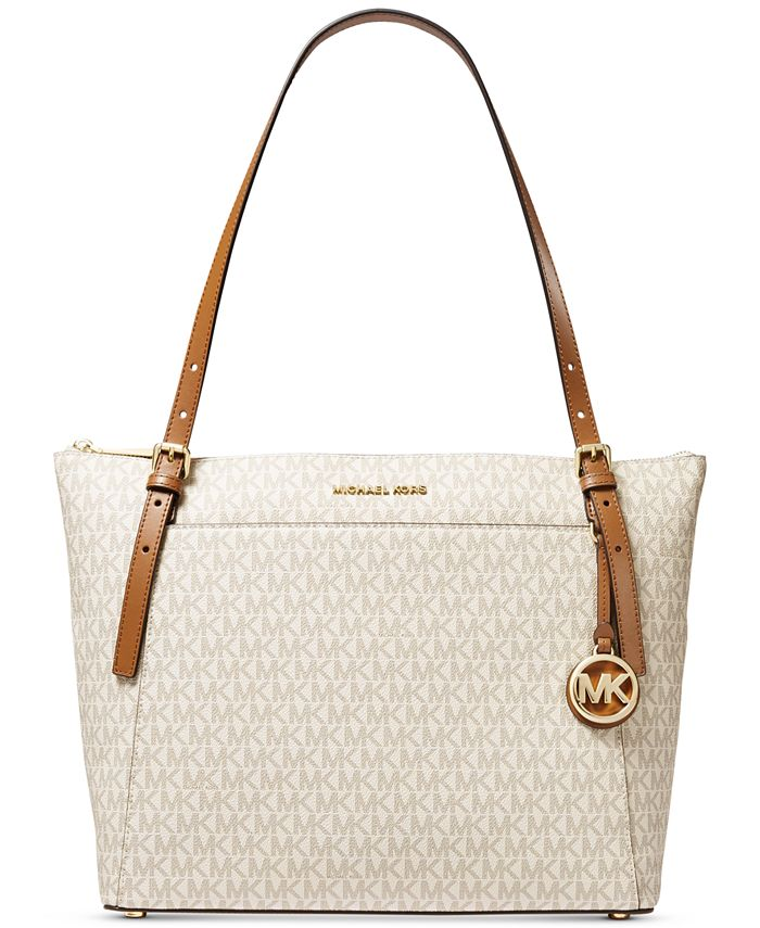 Michael Kors - Michael Michael Kors Voyager Large East West Top Leather Zip Tote