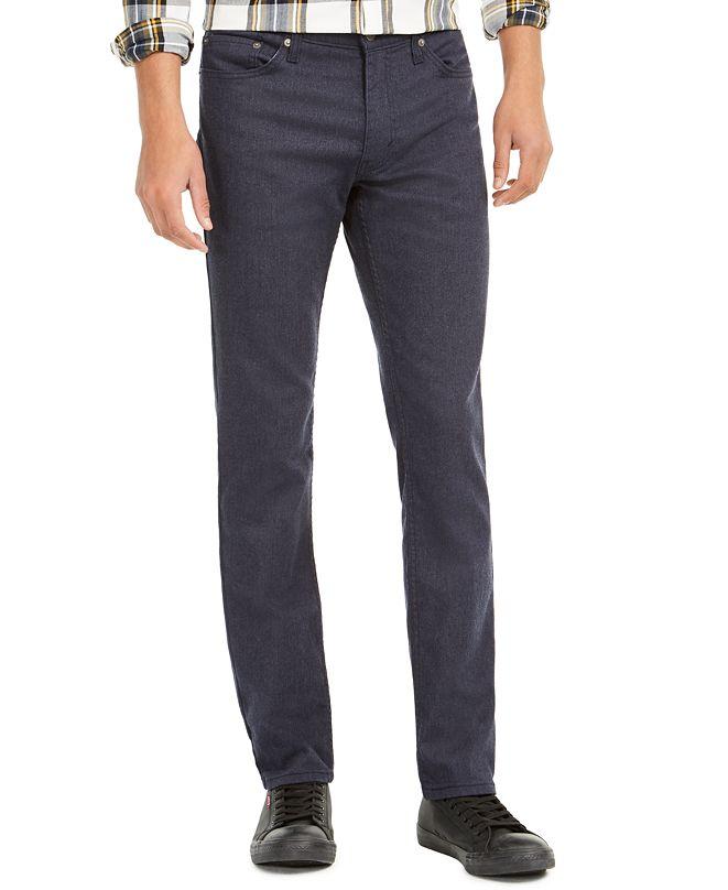 Levi's Levis® Men's 511™ Slim-Fit Stretch Flannel Jeans