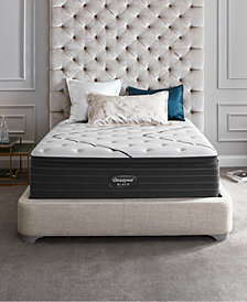 "Beautyrest Black L-Class 15.75"" Medium Firm Pillow Top Mattress Set - Queen"