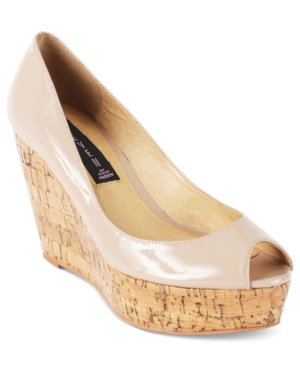 STEVEN by Steve Madden Shoes Favvorr PeepToe Wedge Pumps Womens Shoes