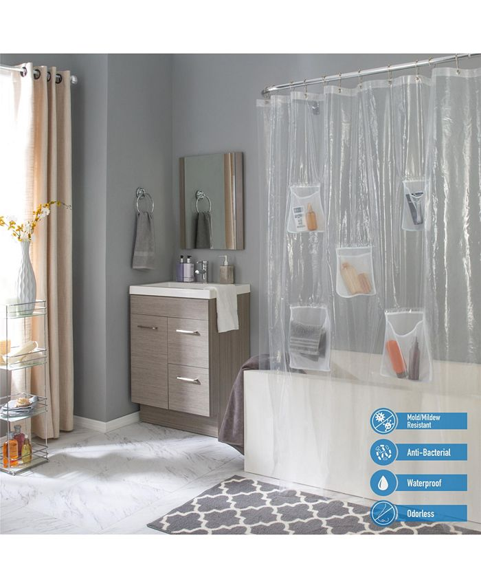 Bath Bliss - Heavyweight PEVA Shower Liner