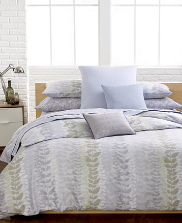 Closeout Calvin Klein Essex Comforter And Duvet Cover