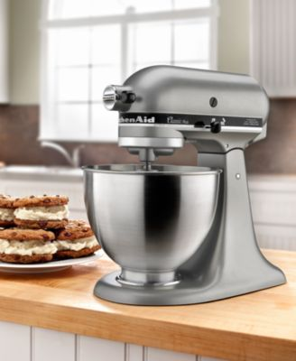 CLOSEOUT KitchenAid KSM75SL 4.5 Qt. Classic Plus Stand Mixer