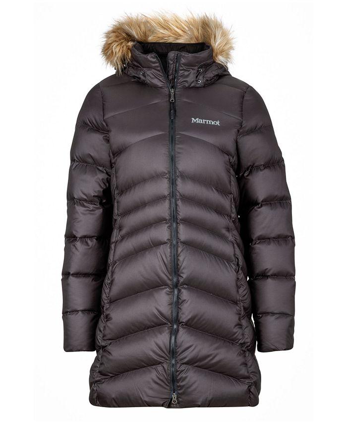 Marmot - Montreal Hooded Faux-Fur-Trim Coat