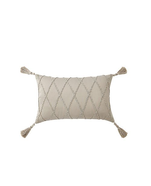 Waterford Shelah 12 X 18 Decorative Pillow Reviews Decorative Throw Pillows Bed Bath Macy S