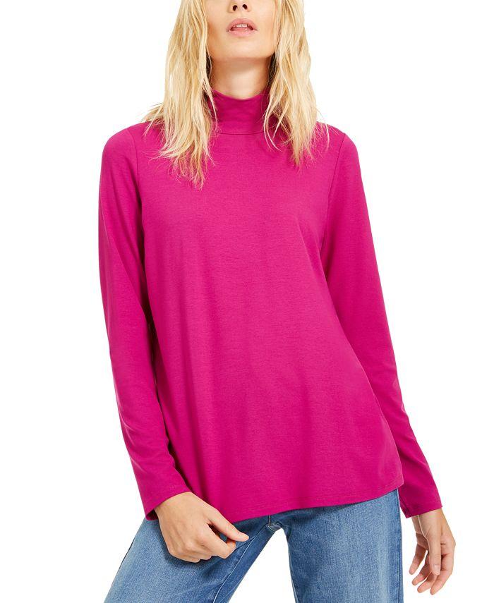 Eileen Fisher - Mock-Neck Sweater