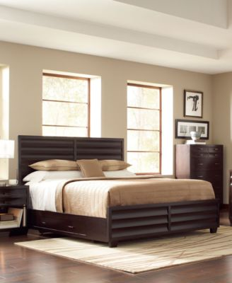 Tahoe Noir Bedroom Furniture Collection - furniture - Macy's