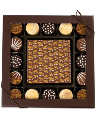 17-Pc. Graduation Gourmet Chocolate Truffles