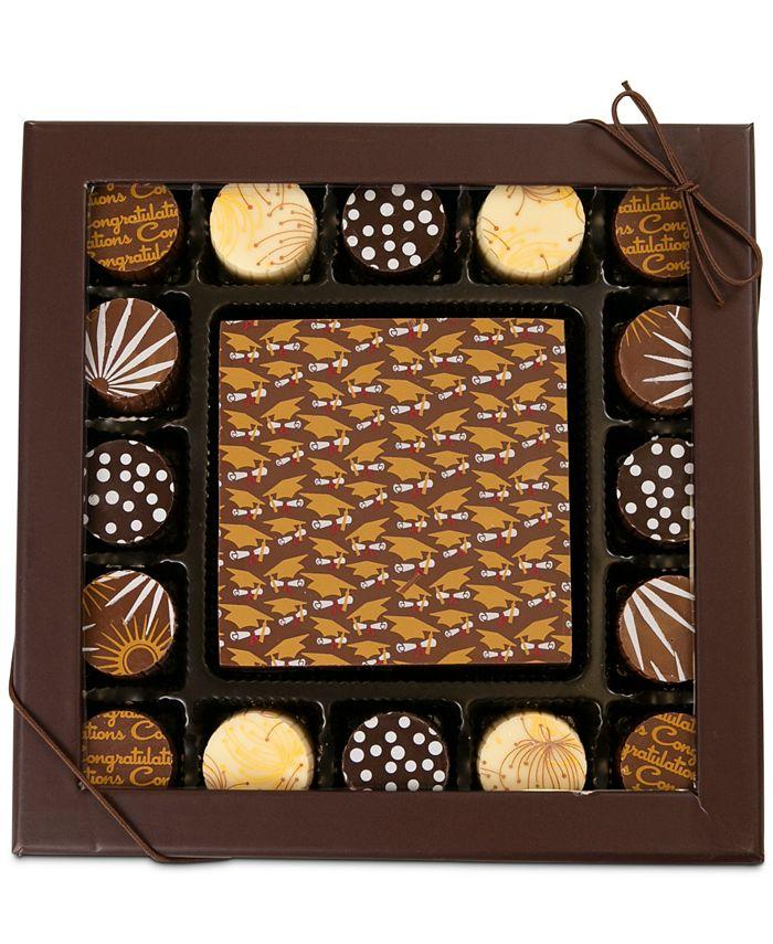 Chocolate Works - 17-Pc. Graduation Gourmet Chocolate Truffles