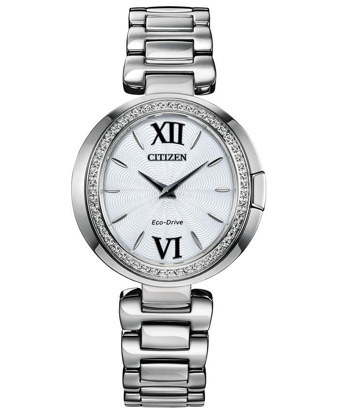 Citizen - Women's Capella Stainless Steel Bracelet Watch 34mm