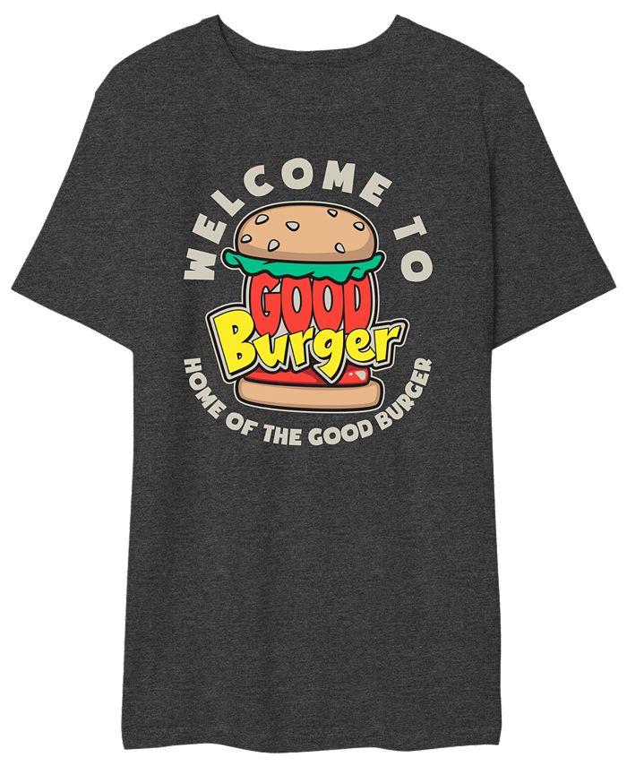 Hybrid - Good Burger Men's Welcome to Good Burger Graphic Tshirt