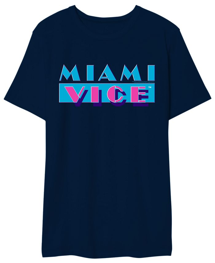 Hybrid - Miami Vice Men's Logo Graphic Tshirt