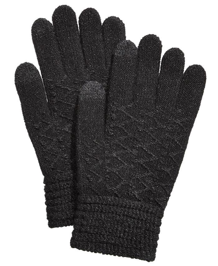 Steve Madden - Lurex Zig Zag iTouch Gloves