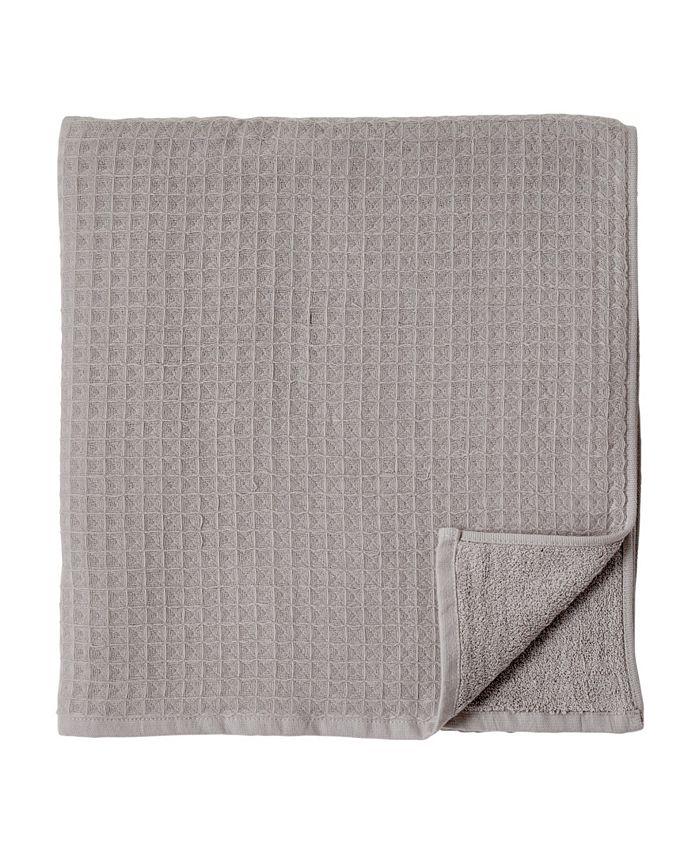 Uchino Waffle Twist 100 Cotton Bath Towel Reviews Bath Towels Bed Bath Macy S