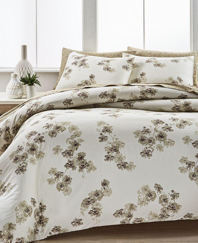 Calvin Klein Sandstorm Flora King Comforter Set