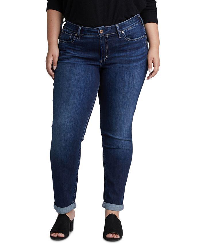 Silver Jeans Co. - Plus Size Boyfriend Jeans