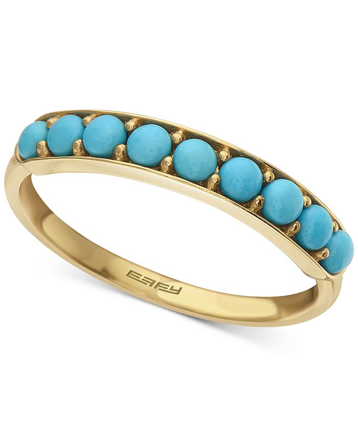 EFFY Collection - Turquoise Band in 14k Gold