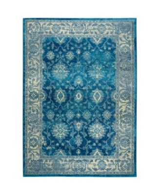 "CLOSEOUT! Global Rug Design Venus VEN07 Blue 5'3"" x 7'2"" Area Rug"
