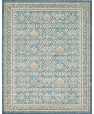 Bellmere Bel4 Light Blue 8' x 8' Round Area Rug
