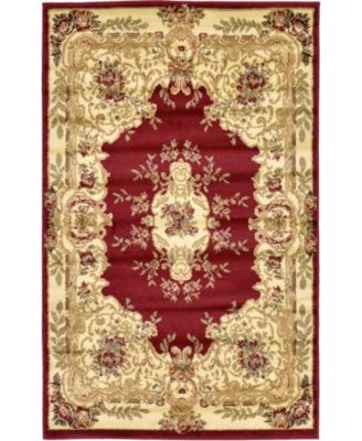 Belvoir Blv5 Red 8' x 10' Area Rug
