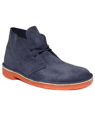 There are lots of Clarks shoes and boots on sale at Macy's right now for both men and women. Options include desert boots, snow boots, chukkas, waterproof loafers and oxfords, tall boots, heels.