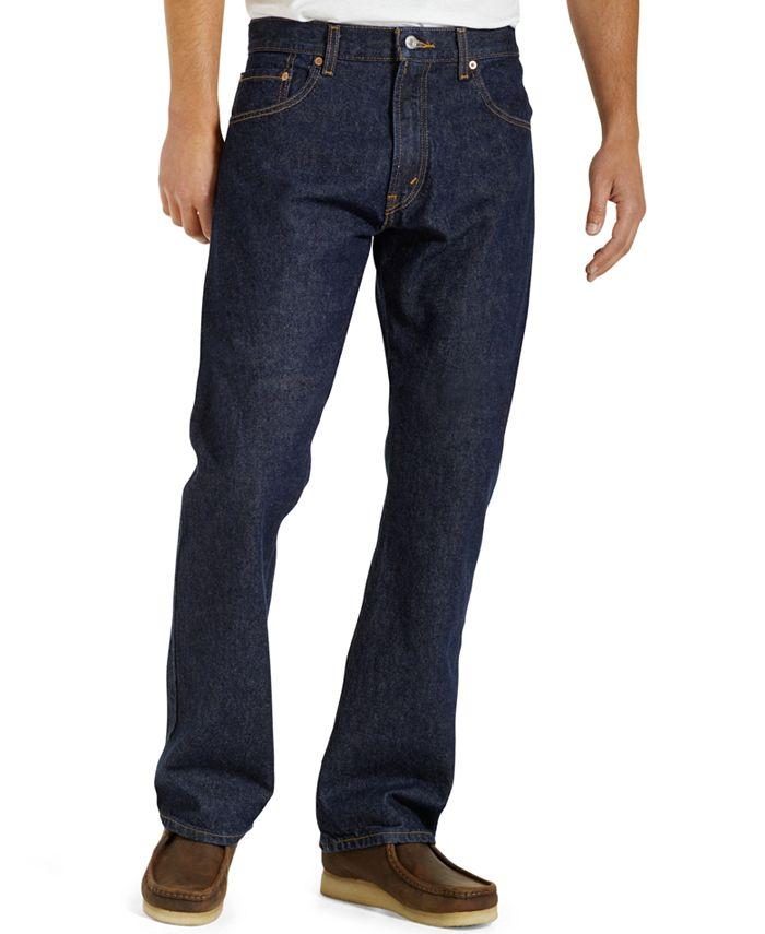 Levi's - Jeans, 517 Boot Cut Core Rinse Jeans