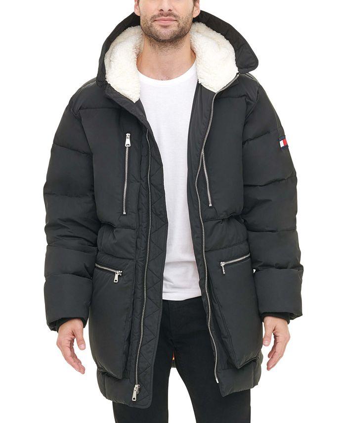Tommy Hilfiger - Men's Hooded Puffer Jacket