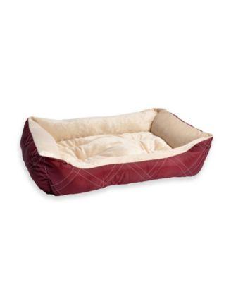 All Season Reversible Pet Bolster Pet Bed, Medium Size