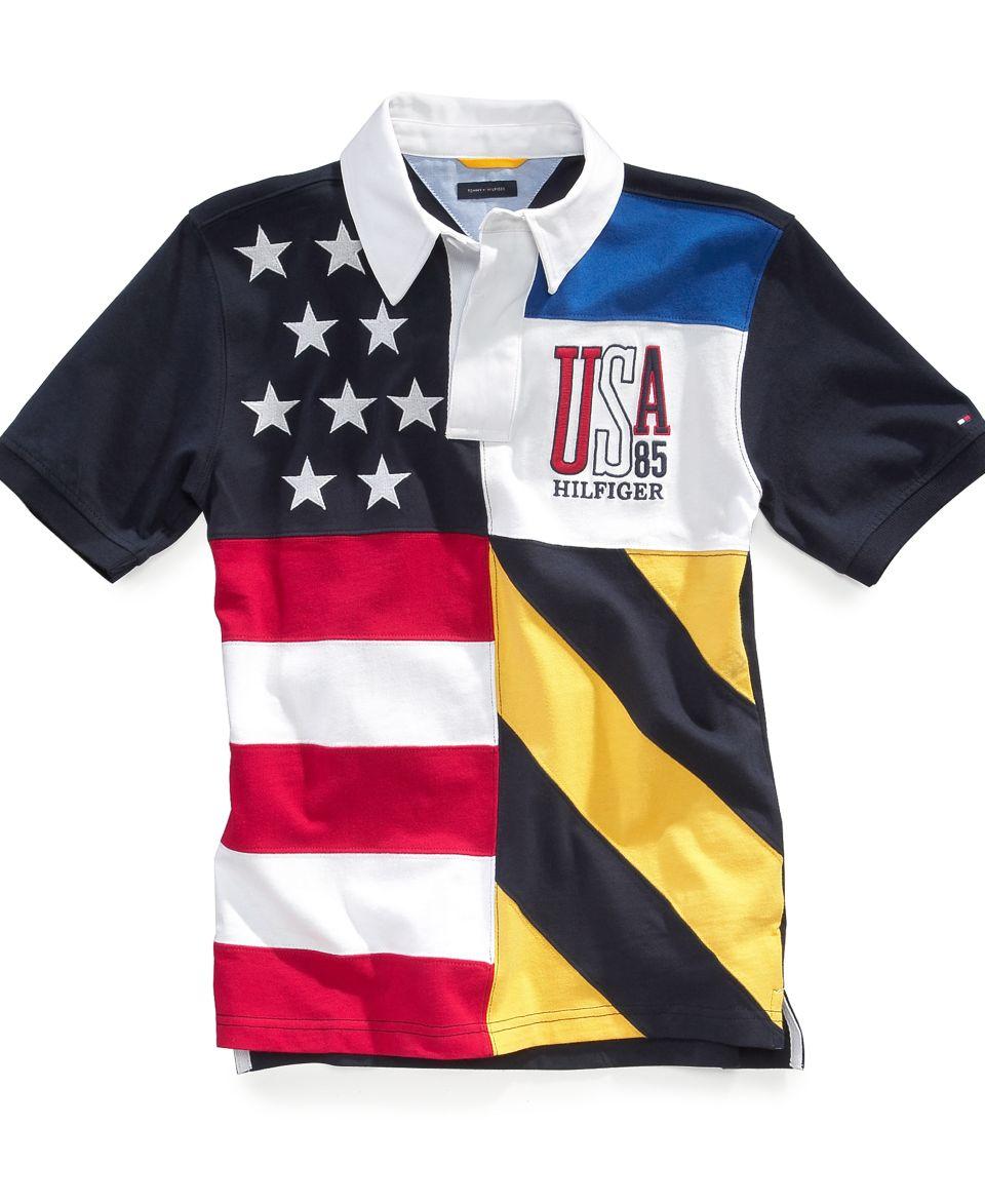 Tommy Hilfiger Kids Shirt, Boys Tate Rugby Shirt   Kids