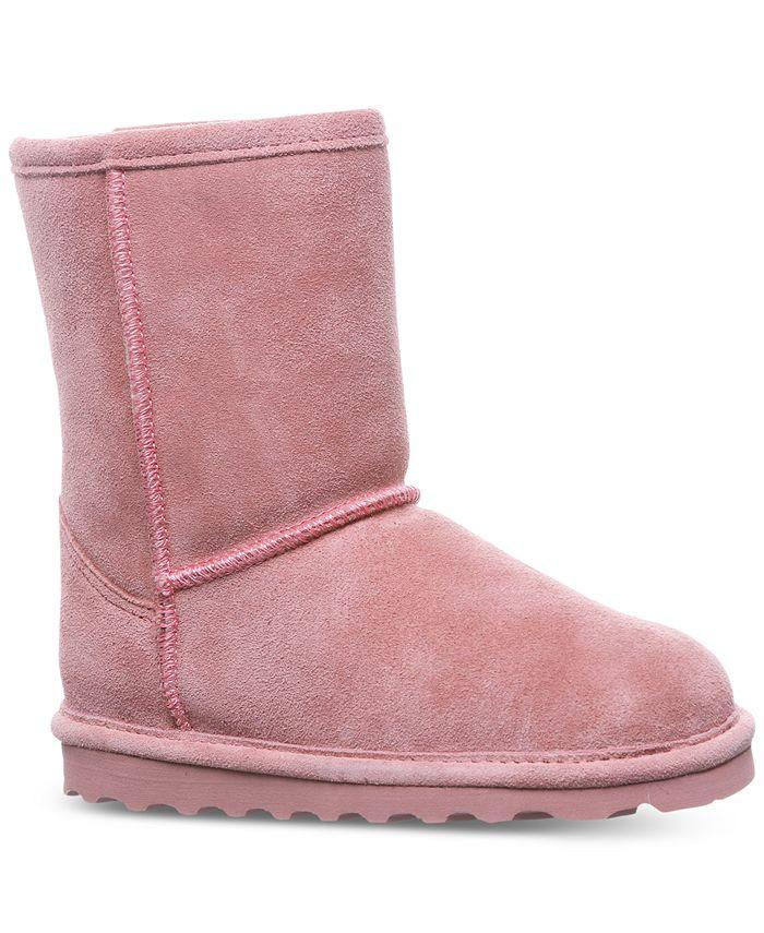 BEARPAW - Little Girls' Elle Short Boots from Finish Line