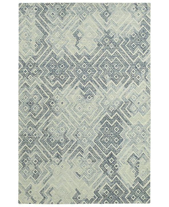 Kaleen Ceneri CEN02-100 Ice 4 'x 6' Area Rug