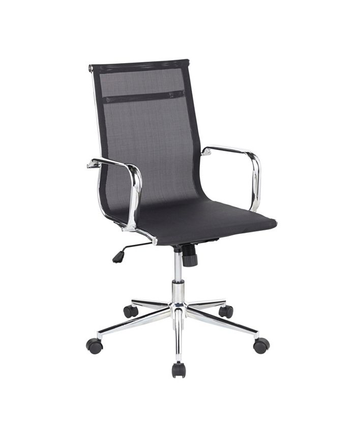 Lumisource - Mirage Office Chair, Quick Ship