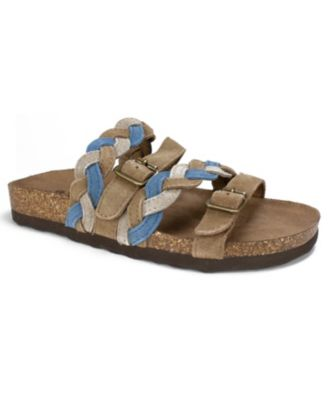 White Mountain Holland Braided Footbed