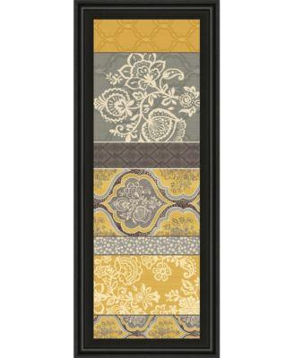 "Le Souk VI by Pela Studio Framed Print Wall Art - 18"" x 42"""