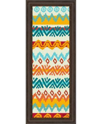 """Navajo Mission Il by Nicholas Biscardi Framed Print Wall Art - 18"""" x 42"""""""