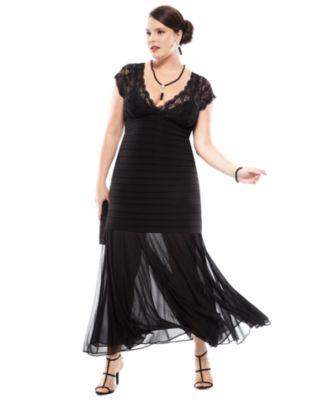 Macy'S Formal Wear Plus Sizes - Wedding Short Dresses