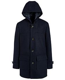 Lauren Ralph Lauren Big Boys Classic-Fit Dark Navy Blue Hooded Overcoat