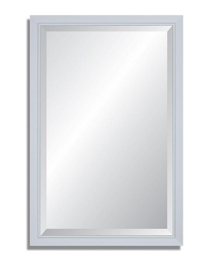 Reveal Frame & Décor - Glacier Gloss Beveled Wall Mirror
