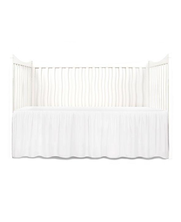 Tadpoles Gathered Microfiber Crib Skirt
