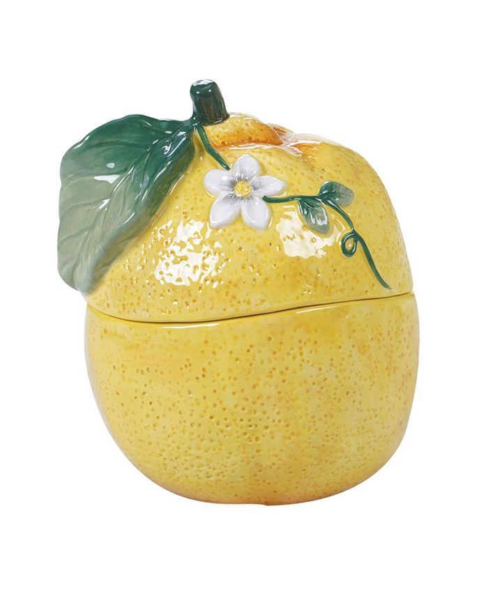Certified International - Citron 3-D Lemon Covered Bowl