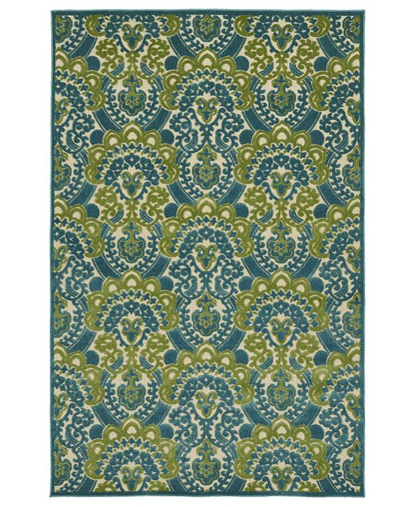 Kaleen A Breath of Fresh Air Blue Area Rug Collection