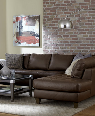 Milano Leather Living Room Furniture Sets Pieces Furniture Macy 39 S
